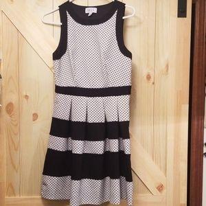 ELLE sleeveless A-line dress